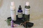 Gift Set #6 - 8oz Aloe Shave Gel, 8oz Aftershave Lotion & 4oz Body Mist